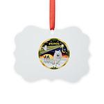 XmasDove/Am Eskimo Picture Ornament
