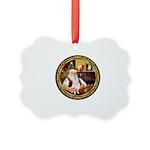 Santa's Am Eskimo #5 Picture Ornament