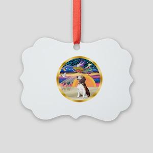 XmasStar/Beagle 2 Picture Ornament