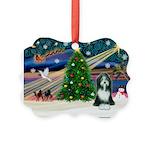 Xmas Magic & Beardie Picture Ornament