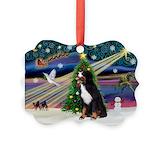 Bernese mountain dog christmas Seasonal