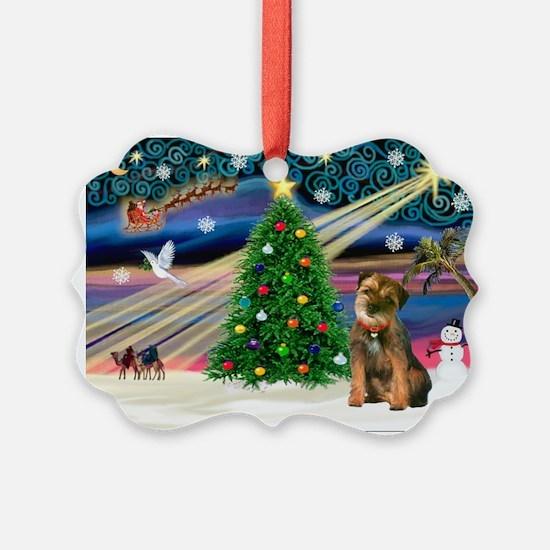 Xmas Magic & Border T Ornament