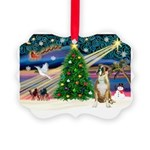 Xmas Magic & Boxer Picture Ornament