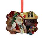 Santa's Boxer (#1) Picture Ornament