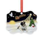 Night Flight/Mastiff 4 Picture Ornament