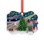 XmasMagic/Bull Mastiff Picture Ornament