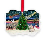 XmasMagic/ Cairn T Picture Ornament