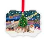 Xmas Magic & Chow Picture Ornament
