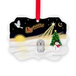 Night Flight/Coton #1 Picture Ornament