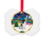 XmasMusic 3/Eng Springer #8 Picture Ornament
