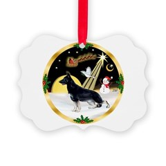 NightFlight-German Shep3 Ornament