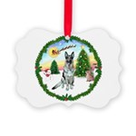 Take Off1/ German Shepherd Picture Ornament