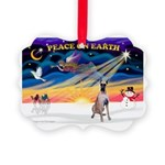 XmasSunrise/Great Dane Picture Ornament