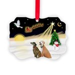 NIGHT FLIGHT<br>& 2 Greyhound Picture Or