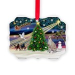 XmasMagic/Ital.Greyt1 Picture Ornament