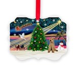 XmasMagic/Lakeland Ter Picture Ornament
