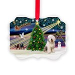 XmasMagic/ Old English Sheepd Picture Ornament