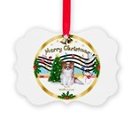 XmasMusic1MCL/Papillon Picture Ornament