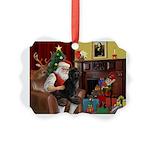 Santa's PWD Picture Ornament