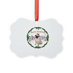 XmasMusic1MC/Pug 11 Picture Ornament