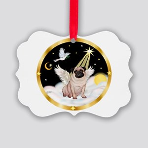 Night Flight/ Pug Picture Ornament