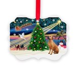 XmasMagic/Rhodesian RB Picture Ornament