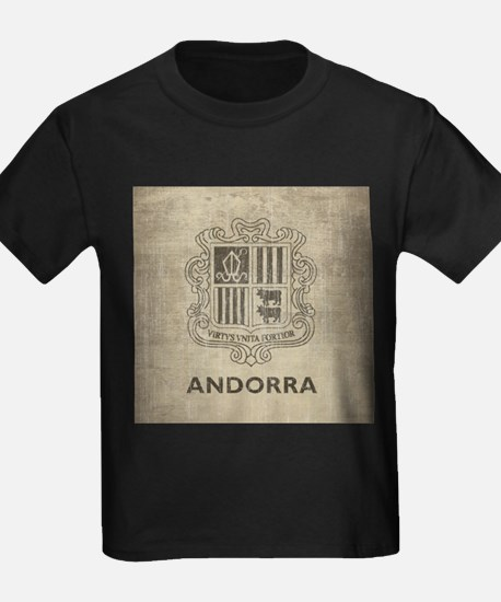 Vintage Andorra Coat Of Arms T