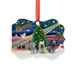 Xmas Magic & Skye Trio Picture Ornament