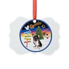 XmasSigns/Corgi Pup (Z) Ornament