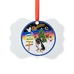 XmasSigns/Corgi Pup (Z) Picture Ornament