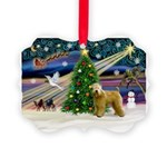 XmasMagic/Wheaten (#2) Picture Ornament