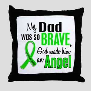 Angel 1 NH Lymphoma Throw Pillow