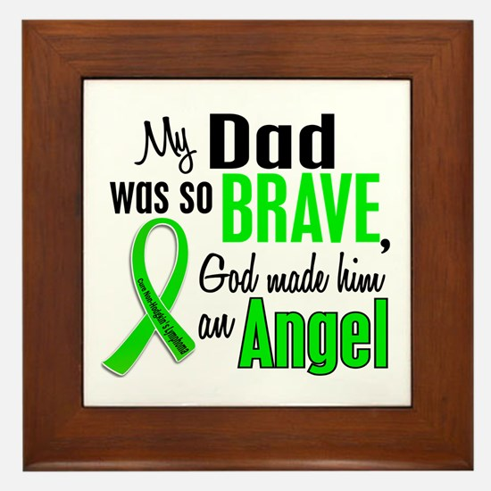 Angel 1 NH Lymphoma Framed Tile
