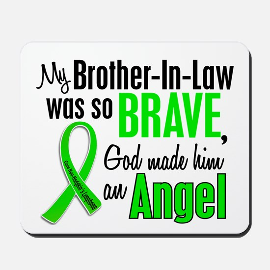 Angel 1 NH Lymphoma Mousepad