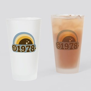 1978 Drinking Glass
