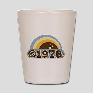 1978 Shot Glass