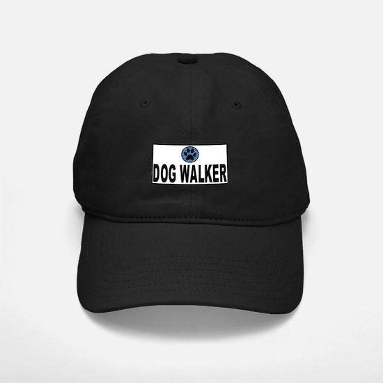 Dog Walker Blue Stripes Baseball Hat
