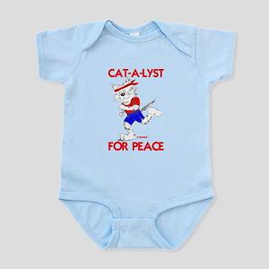 CAT-A-LYST for peace Infant Bodysuit