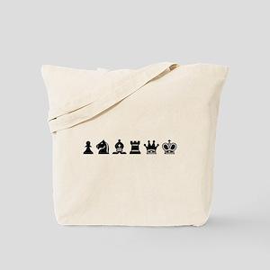Tote Bag - Chess Symbols