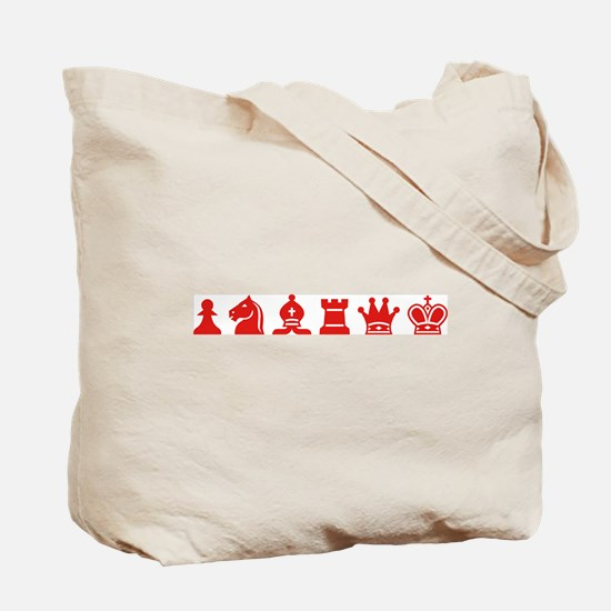 Tote Bag - Chess Symbols