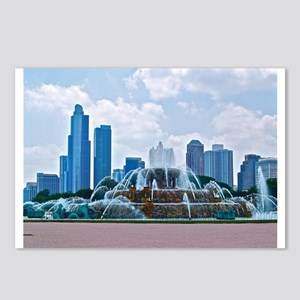 Fountain in Grant Park Chicago Postcards (Package