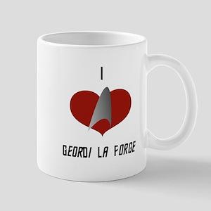 I Love Geordi La Forge Mug