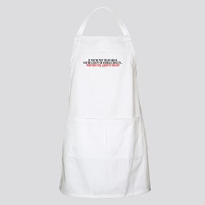 If you're not vegetarian Apron