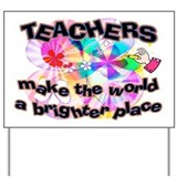 Teacher appreciation Yard Signs