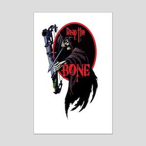 Reap the Bone Mini Poster Print