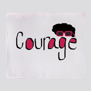 Courage Throw Blanket