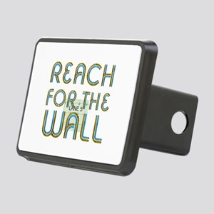 Swim Slogan Rectangular Hitch Cover