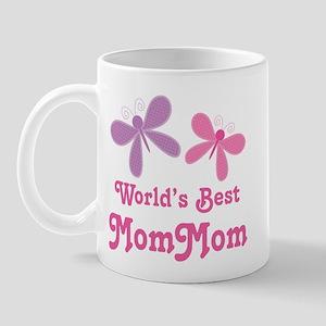 Best MomMom Butterfly Mug