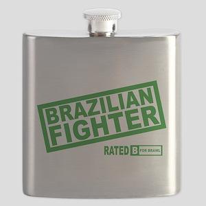 Brazilian Fighter Flask