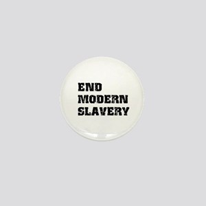 End Modern Slavery Mini Button